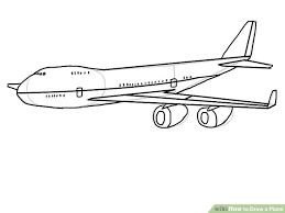 4 ways draw plane wikihow