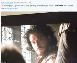 Indigo Vanity Twitter Gunpowder Viewers Are Horrified At Bbc For U0027got U0027 Violence Daily