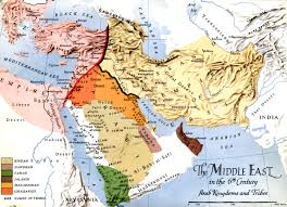 Middle East Map Map Middle East Deserts Map Middle East Deserts Map