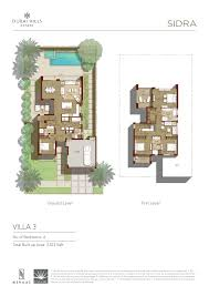 villa plans sidra villa floor plans dubai estates dubai