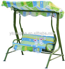 children two seat swing chair with canopy qf 6101 buy chidren