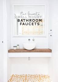 best wall mounted bathroom faucets for a stylish remodel
