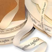 printed ribbon screen printed cotton taffeta ribbons