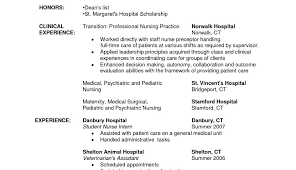 exle of resume for nurses resume template enchanting intern exles for your sle