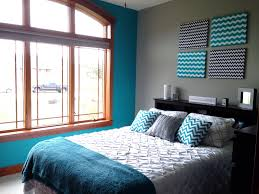 Diy Bedroom Accent Wall Sophisticated Turquoise Accent Wall Contemporary Best Ideas