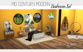 Sims 4 Furniture Sets Mid Century Modern Bedroom Updated Sims 4 Designs