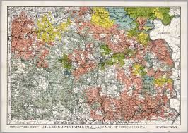 Washington County Tax Map by J R U0026 J E Barnes Farm U0026 Coal Land Map Of Greene County