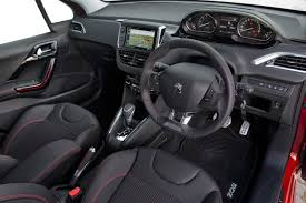 peugeot 308 gti interior 2016 peugeot 208 review
