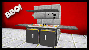 How To Build A Backyard Grill minecraft how to make a bbq youtube