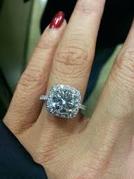 2 carat ring how much is a 2 carat diamond proposed with a cushion halo