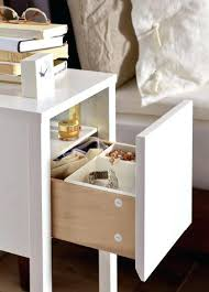 narrow bedside tables with drawers small bedside cabinet side