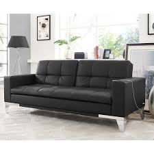 Black Sofa Bed by Euro Loungers Costco