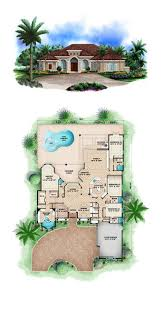 house plans with pool florida home plans with pool design modern villa floor the kevrandoz