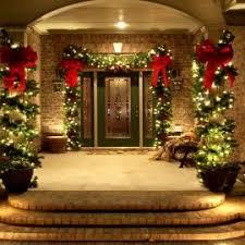exterior homemade outdoor christmas light decoration with lighting