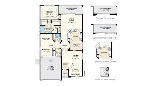 floor plans florida pinehurst iii floor plan at connerton in land o lakes fl