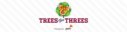 trees for threes presented by pwc cleveland cavaliers