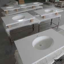 Solid Surface Bathroom Countertops by Wall Mounted Bathroom Countertop Solid Surface Bathroom Counter