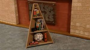 free standing corner shelf plans bookshelf ideas diy architecture
