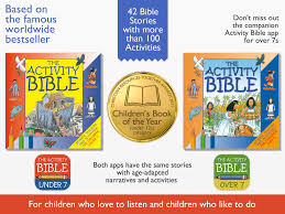 the activity bible for kids under 7 children u0027s bible iphone and