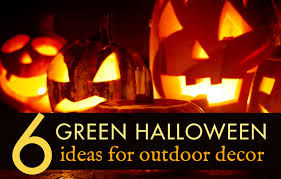6 green outdoor halloween decorations to spookify your home this