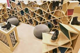 Home Design Interior Store Modern Shoe Store Interior An Ancient Form Design U2013 Sergio Rossi