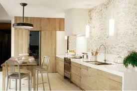 cuisine moderne bois clair stunning decoration maison cuisine moderne pictures design trends