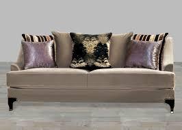 Nailhead Sleeper Sofa Cocoa Brown Fabric Sofa Nailhead Trim