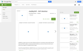 wish list app askmygift gift wishlist android apps on play angellist