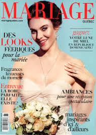 magazine mariage wedding magazine mariage québec cover capelio wedding hair