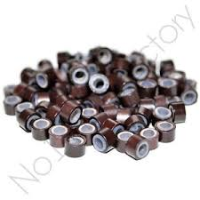 micro rings 100pc s salon grade hair extension silicone micro rings links