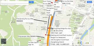 Hash Map Hangzhou Hash House Harriers