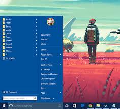 classic shell u2022 view topic change color of metro menu to match