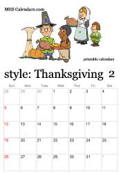 thanksgiving calendar background blank calendar design 2017