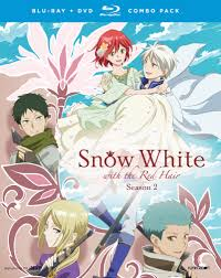 white red hair season 2 blu ray dvd