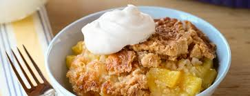 pineapple coconut rum dump cake dessert recipes dole