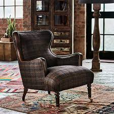 Tweed Armchair Harris Tweed Nairn Occasional Chair Darnoch Check Chairs
