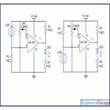 Solar Street Light Circuit Diagram by Diagram For Automatic Light Dark Indicator