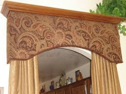 Fabric Covered Wood Valance Cornice Board Kits Styrofoam Cornice Kits