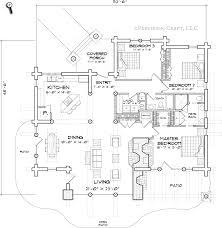 caribou log home floor plan by precision craft