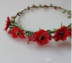 wholesale fashion flowers seaside location garland headband