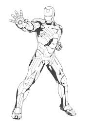Iron Man 3 Coloring Pages Funycoloring Coloring Page Iron