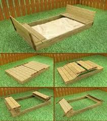 Backyard Sandbox Ideas Diy Sliding Closure Sandbox Sara This Would Fix The Problem Of