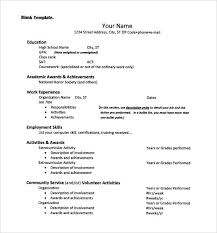 resume for college admission interviews resume sle resume for college admission easy templates