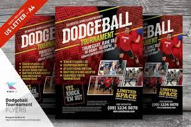 dodgeball tournament flyer template flyer templates creative