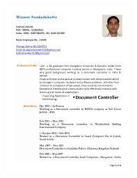 Air Traffic Controller Resume Sample International Controller Resume Administrative Document