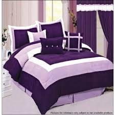 Purple Velvet Comforter Sets Queen 16 Best Purple Comforter Sets Queen Sized Images On Pinterest