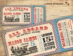 train ticket invitation template free musicalchairs us