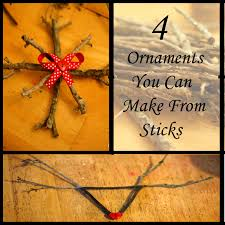 diy stick ornaments great gift ideas for to make