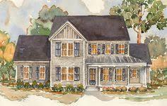 Farmhouse Plans Wrap Around Porch Aiken Ridge Moser Design Group Southern Living House Plans My