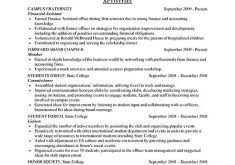 Sample Intern Resume by Surprising Idea Sample Internship Resume 8 Example Cv Resume Ideas